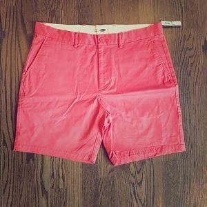 Old Navy Vintage Red Shorts
